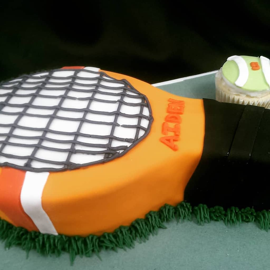 Tennis Racket Cake Sugartime Confections