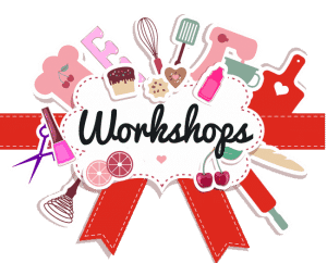 COOKIE WORKSHOPS<br /> SATURDAYS 2 PM- 4 PM
